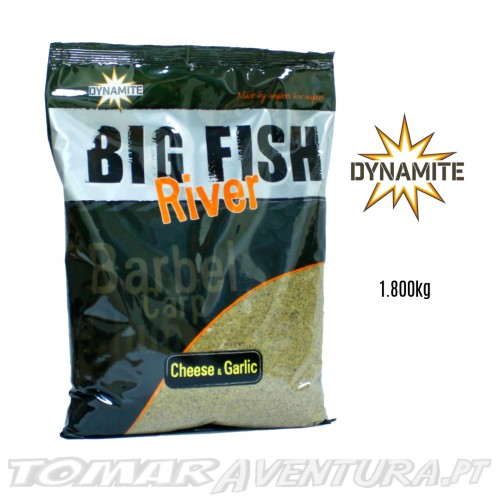 Dynamite Big Fish River Groundbait – Cheese & Garlic