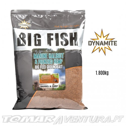 Dynamite Big Fish Marine Halibut & Frenzied Hempseed Groundbait