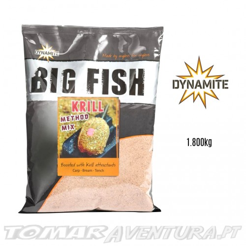 Dynamite Big Fish Krill Method Mix Groundbait