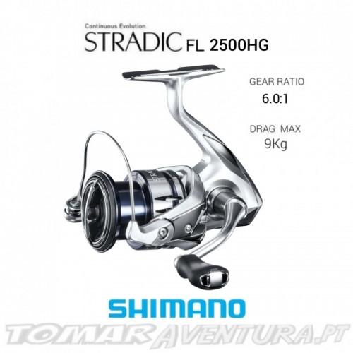 Carreto Shimano Stradic 2500 FL / 3000 FL