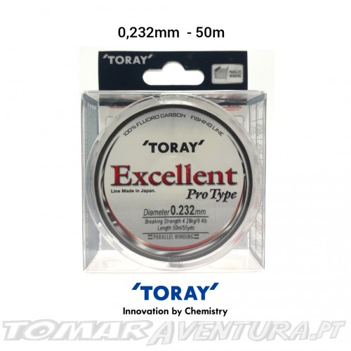 Toray Excellent Pro Type 100% Fluorocarbon 50m
