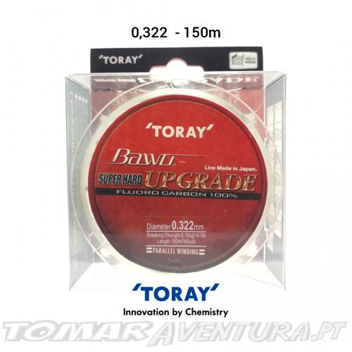 Toray Bawo Super Hard Upgrade 100% Fluorocarbon 150m