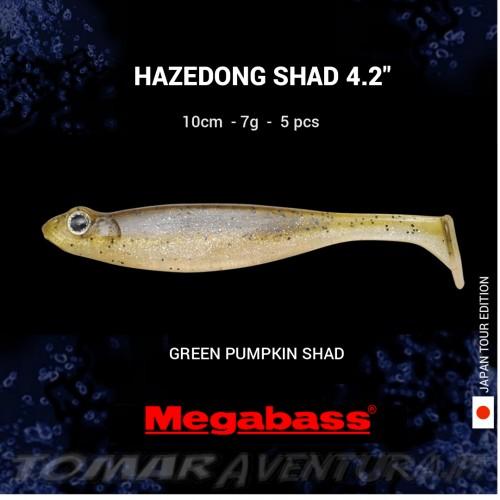 "Megabass Hazedong Shad 4.2"""