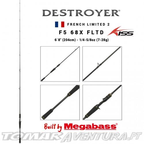 Megabass Destroyer F5 68X French Limited 2