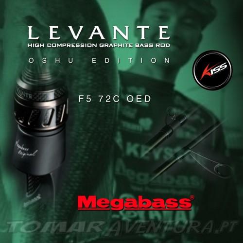 Megabass Levante F5 72C Oshu Edition