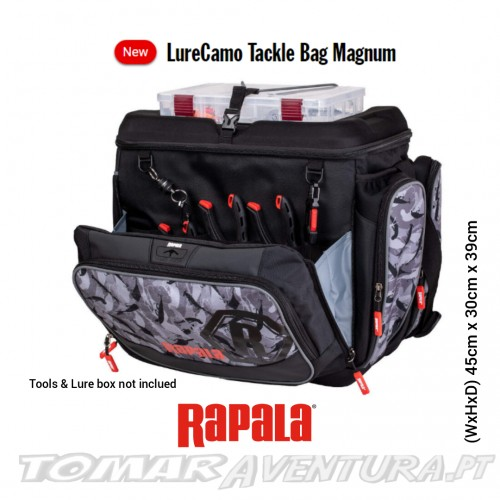 Rapala Lure Camu Tackle Bag Magnum