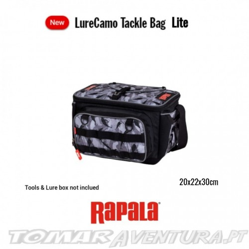 Rapala Camo Lure Tackle Bag Lite