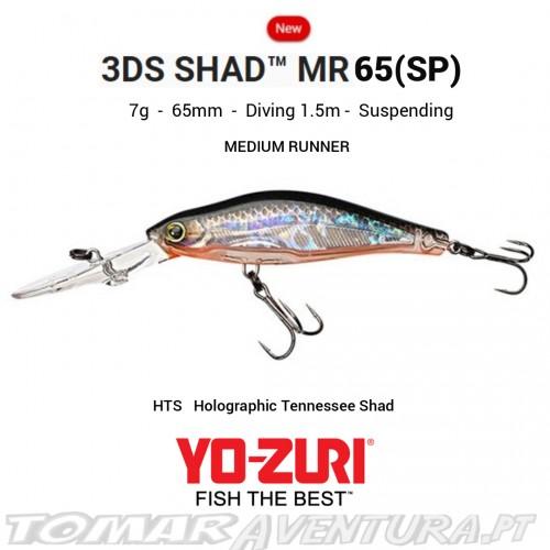 Yo-Zuri 3DS Shad MR 65 (SP)