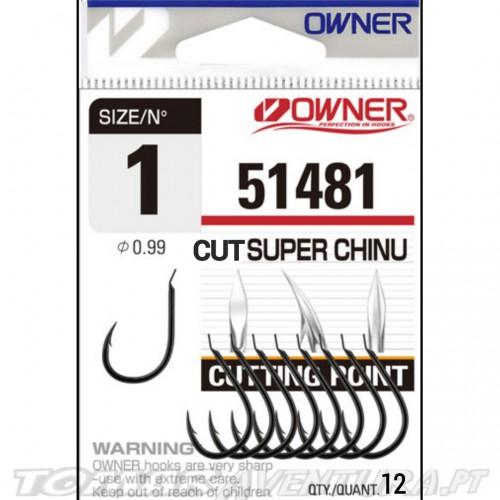 Anzol Owner 51481 Cut Super Chinu