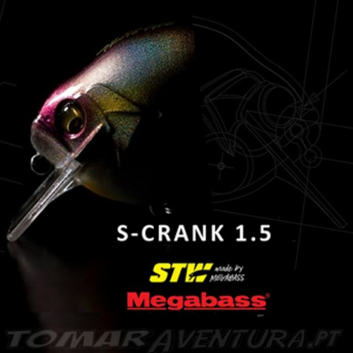 Megabass S-Crank 1.5