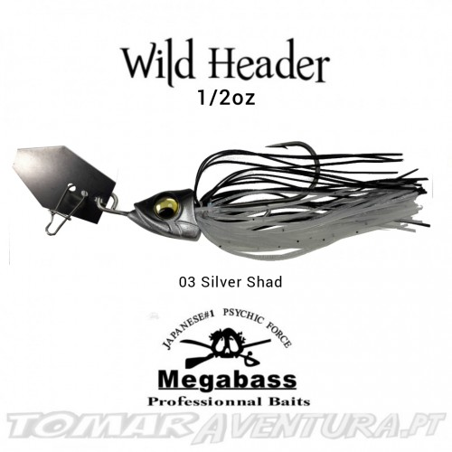 Chaterbait Megabass Wild Header 1/2oz
