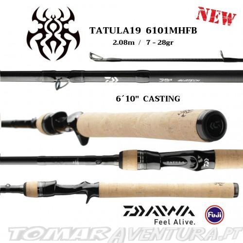 Cana Baitcasting Daiwa Tatula 19  6101MHFB