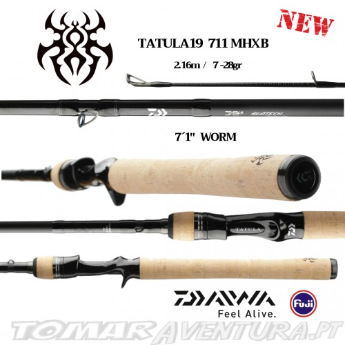 Cana Baitcasting Daiwa Tatula 19  711MHXB