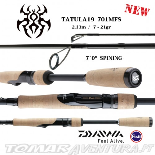Cana Spinning Daiwa Tatula 19 701MFS