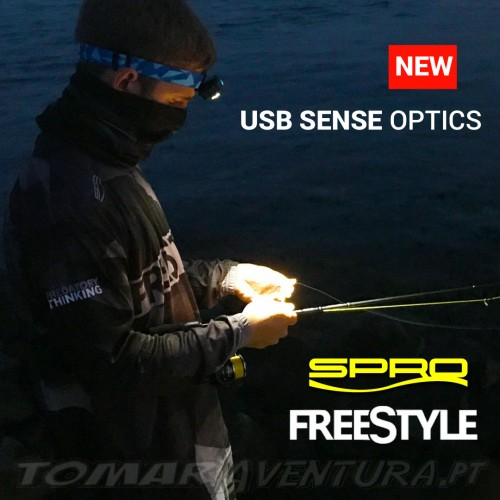 Head Lamp Spro FS USB Sense Optics - Black