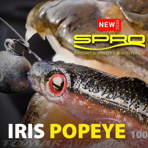 Spro Iris Popeye UV Shad 10cm