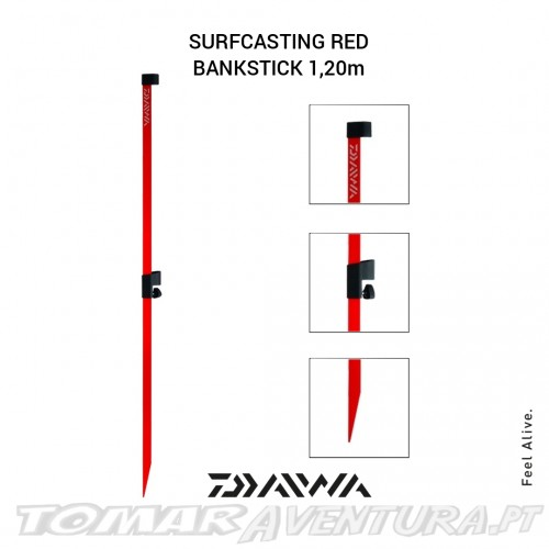 Daiwa Surfcasting Red Blankstick