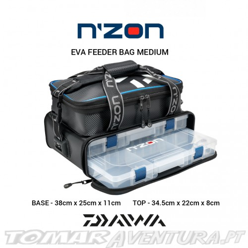 Daiwa N´Zon Eva Feeder Bag Medium