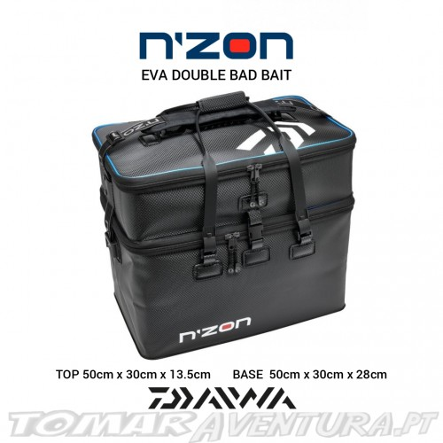 Daiwa N´Zon Eva Double  Bait Bag