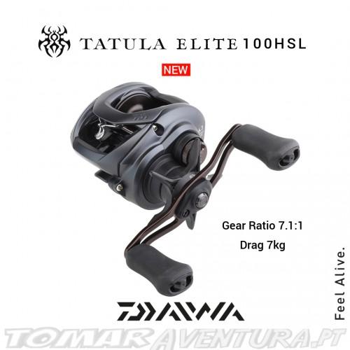 Carreto Baitcasting Daiwa Tatula Elite 19 100 HSL