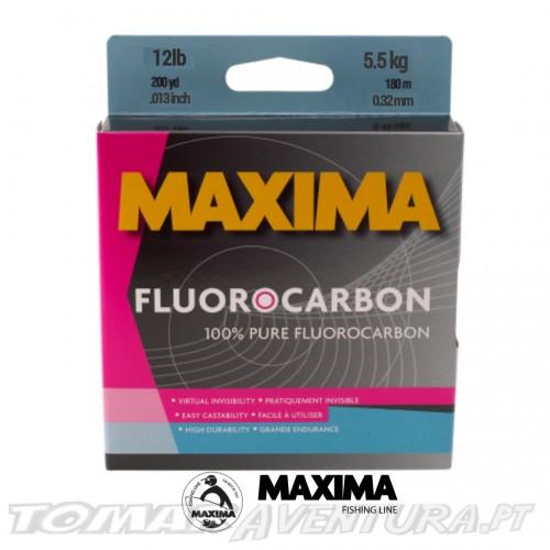 Linha Maxima Fluorocarbon 100%