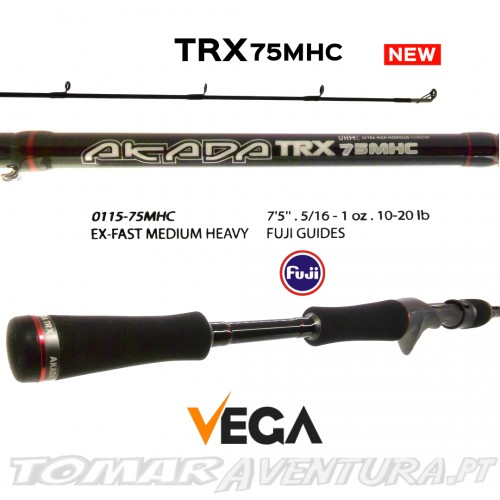 Cana Baitcasting Vega Akada TRX 75MHC