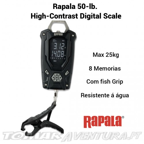 Rapala 50-lb.  High-Contrast Digital Scale