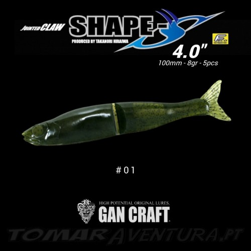 Gan Craft  Jointed Claw Shape S 4""