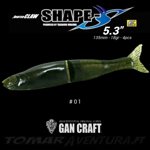 Gan Craft Jointed Claw Shape S 5.3""