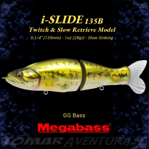Swimbait Megabass I Slide 135 B