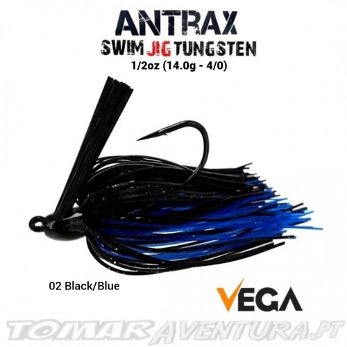 Vega Antrax Swim Jig Tungsten 1/2oz