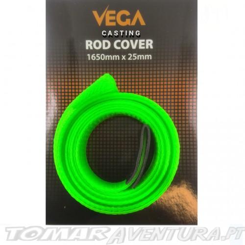 Vega Baitcasting Rod Cover Green