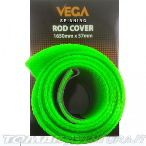 Vega Spinning Rod Cover Green