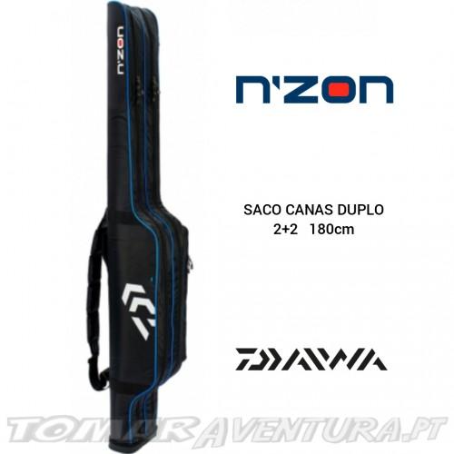 Daiwa N´ZON Saco Canas Duplo 2+2