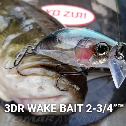 Amostra Yo-zuri 3DR WAKE BAIT 70 (F)