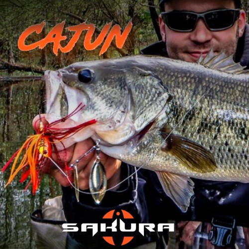 Sakura  Cajun Spinnerbait 1/2oz