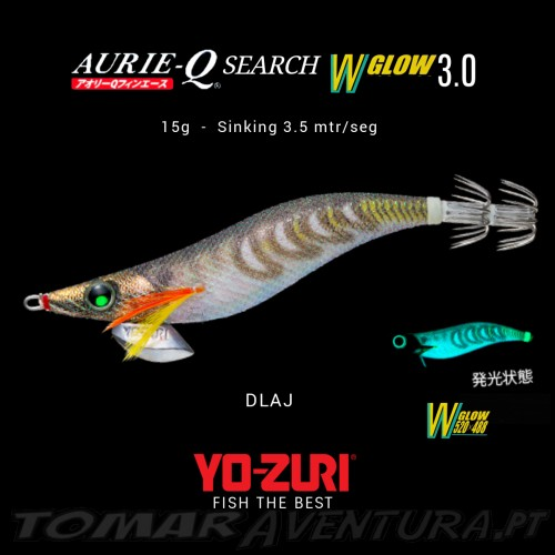 Yo-Zuri Aurie-Q Search Double Glow 3.0