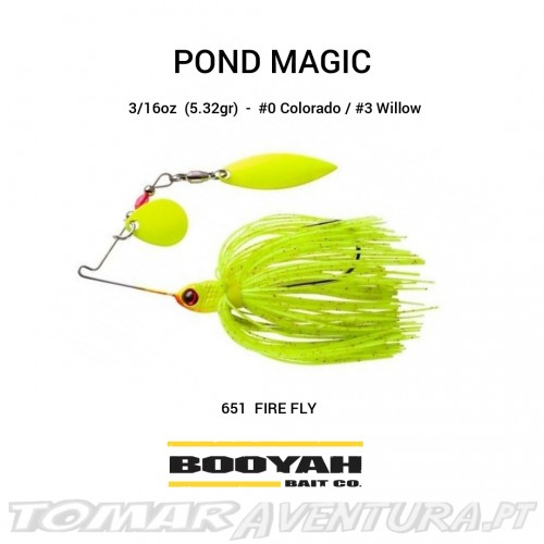Mini Spinnerbait Booyah Pond Magic 3/16oz