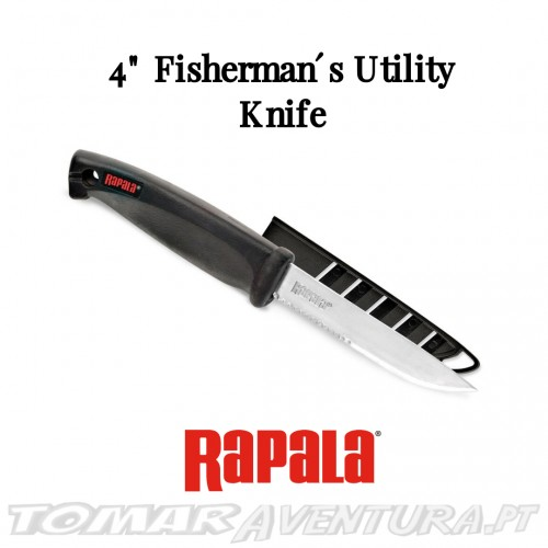 "Faca Rapala 4"" Fisherman´s Utility Knife"
