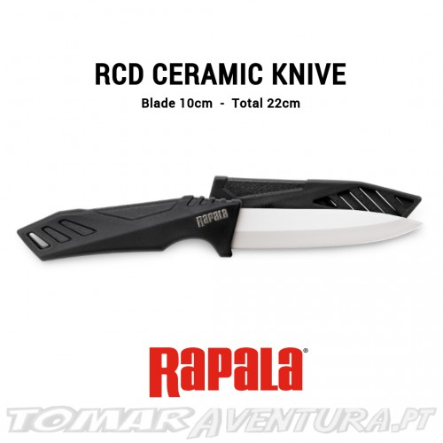 Faca Rapala RCD Ceramic Knife