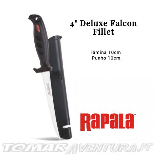 """Faca Rapala 4"""" Deluxe Falcon Fillet"""
