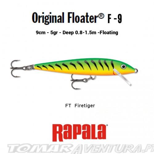 Rapala Original Floayer F-9
