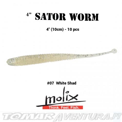 "Molix Sator worm 4"""