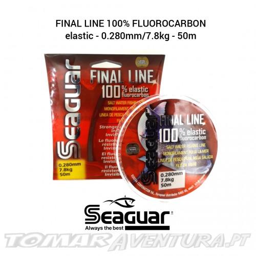 Seaguar Final Line 100% Fluorocarbon Elastic
