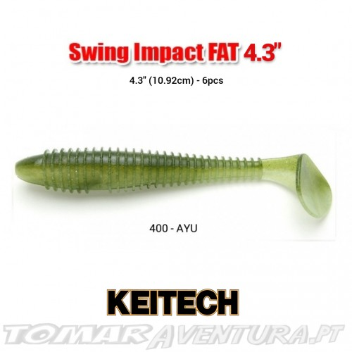 Swimbait Keitech Swing Impact Shad