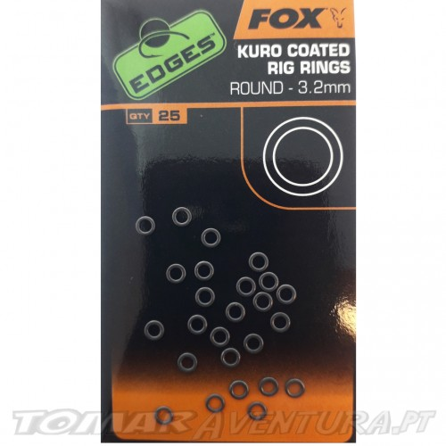 Fox Kuro Coated Rig Rings
