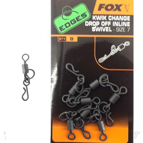 Fox Edges Kiwk Change Drop Off Inline Swivel