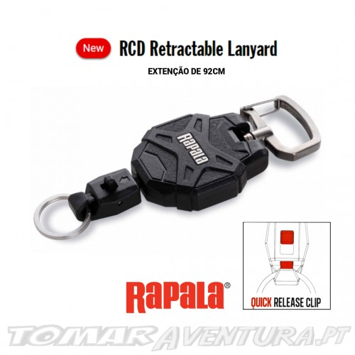 Rapala RCD Retractable Lanyard