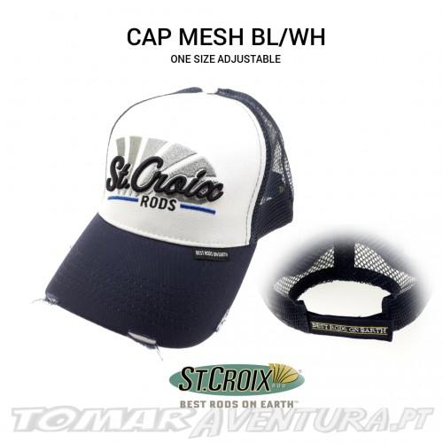 Chapeu St Croix Cap Mesh Blue/White