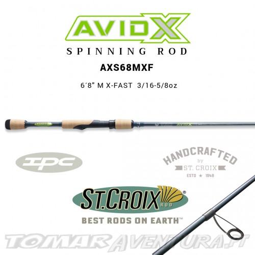 Cana St Croix Avid X Spining AXS68MXF